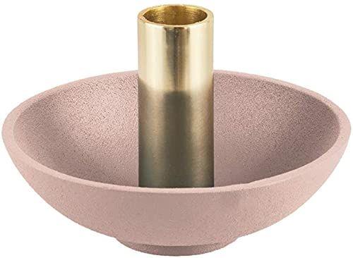 PT Living świecznik zwinny wanna aluminiowy rumieniec różowy, 13 x 9,5 cm