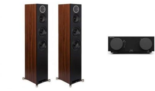 CYRUS ONE + ELAC DEBUT REFERENCE F5 -