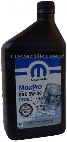 Olej silnikowy 5W30 MOPAR GF-5 MS-6395 0,946l