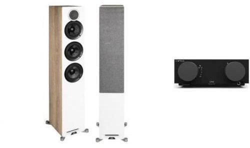 CYRUS ONE + ELAC DEBUT REFERENCE F5 dąb -