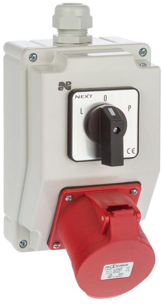 Rozdzielnica elektryczna bez wyposażenia 6274 - 20 / RS - Z L - 0 - P 3P + N + Z 32A ELEKTRO-PLAST