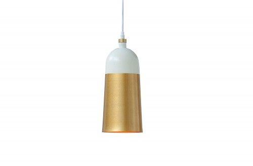 Lampa wisząca Modern Chick biało-złota