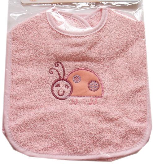 Zestaw 2 śliniaków niemowlęcych na rzep Biedronka rozmiar duży