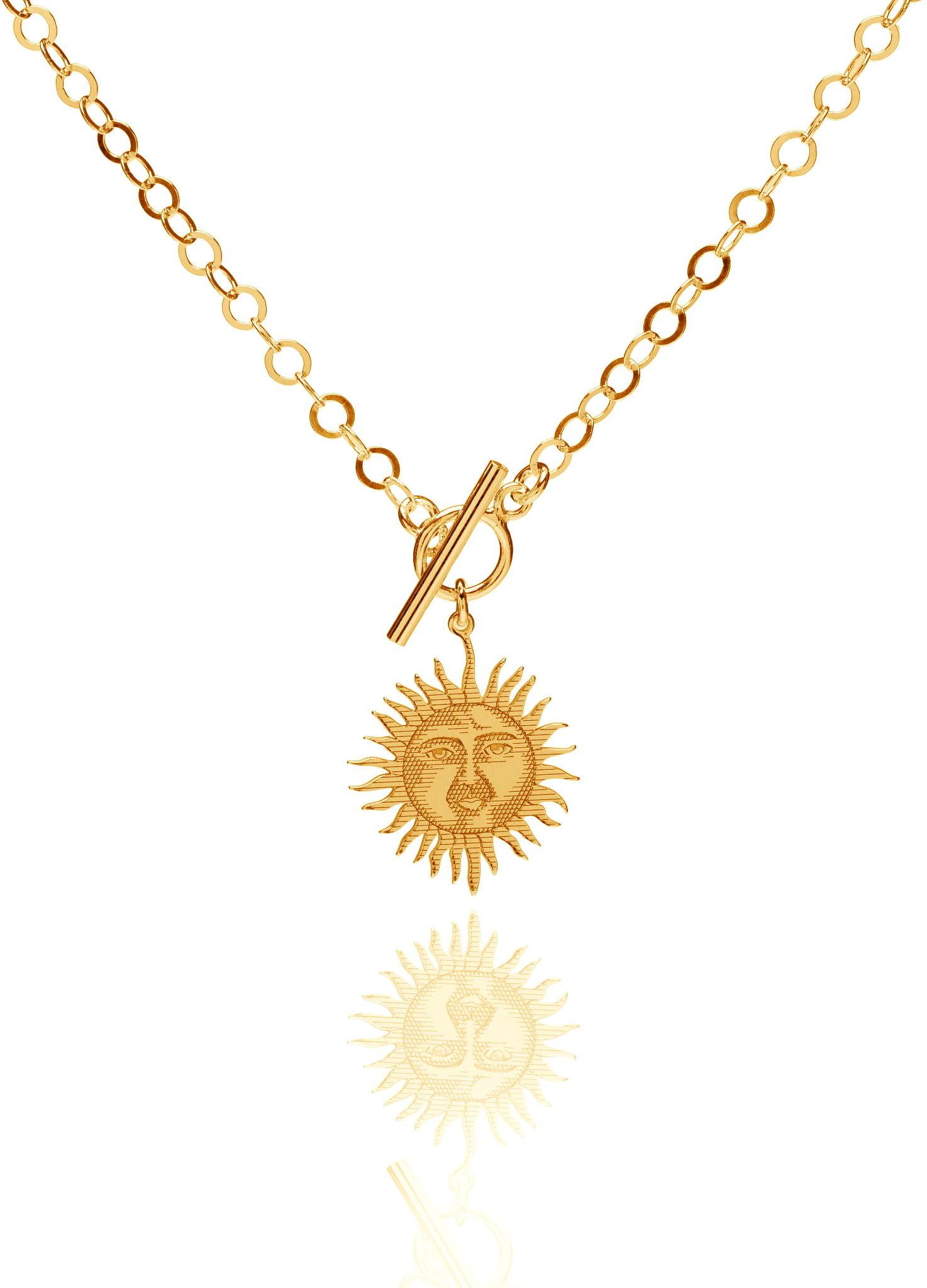 Naszyjnik słońce boho