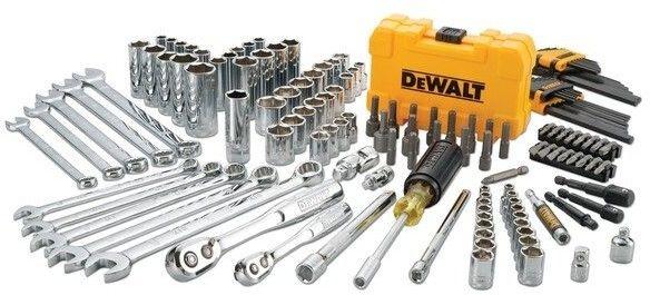 """Zestaw 142 szt. narzędzi z nasadkami 1/4"""" i 3/8"""" DeWALT [DWMT73802-1]"""
