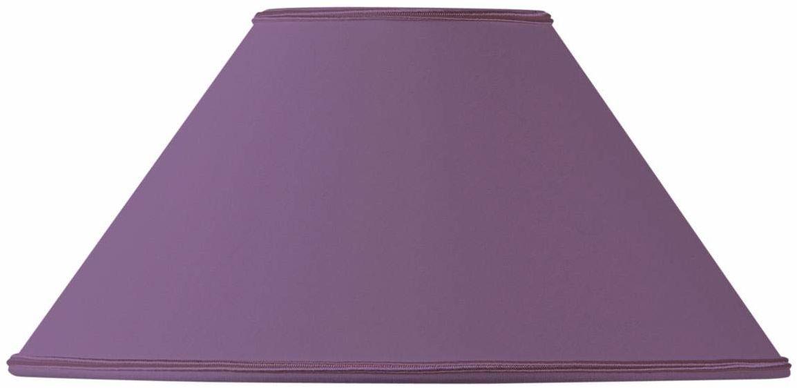 Klosz lampy w kształcie retro, 45 x 14 x 25 cm, fioletowy