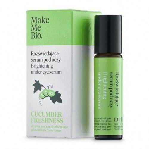 Cucumber Freshness - Rozświetlające Serum pod Oczy (roller) 10ml Make Me Bio