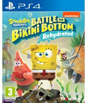 Gra PS4 Spongebob SquarePants: Battle for Bikini Bottom  Rehydrated