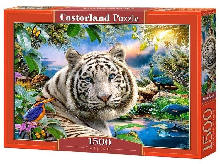 Puzzle 1500 Brzask CASTOR - Castorland