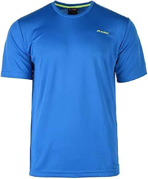 Elbrus Męski T-shirt Glodi niebieski Cloisonne/Safety Yellow M