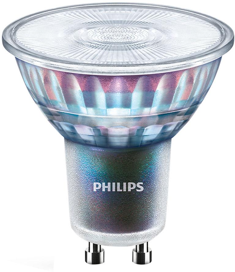 Philips LEDspot ExpertColor GU10 5.5W 940 36D (MASTER) Najlepsze renderowanie kolorów - Zimna Biel - Ściemnianie - Zamienne 50W