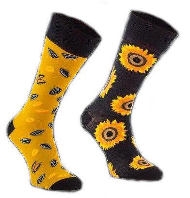 Sunflowers, Todo Socks, Słoneczniki, Kolorowe Skarpetki