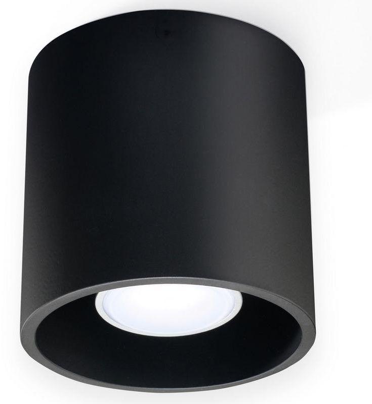 Sollux - plafon orbis 1 - czarny