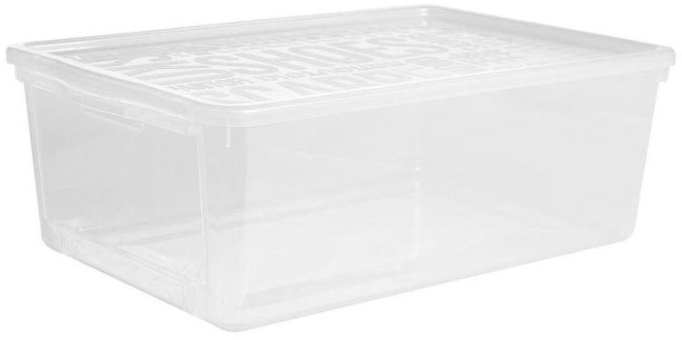 Pojemnik na obuwie 38 x 25.7 x 13.3 cm Plast Team