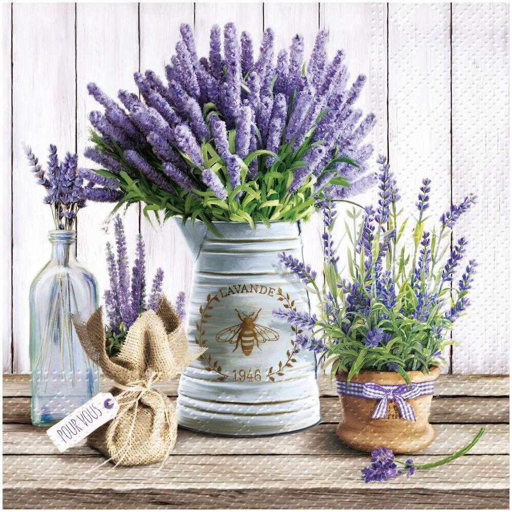 Serwetki Lavender 33 x 33 cm 20 szt.