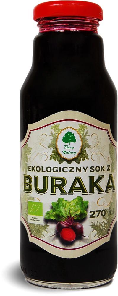 Sok z buraka bio - dary natury - 270ml