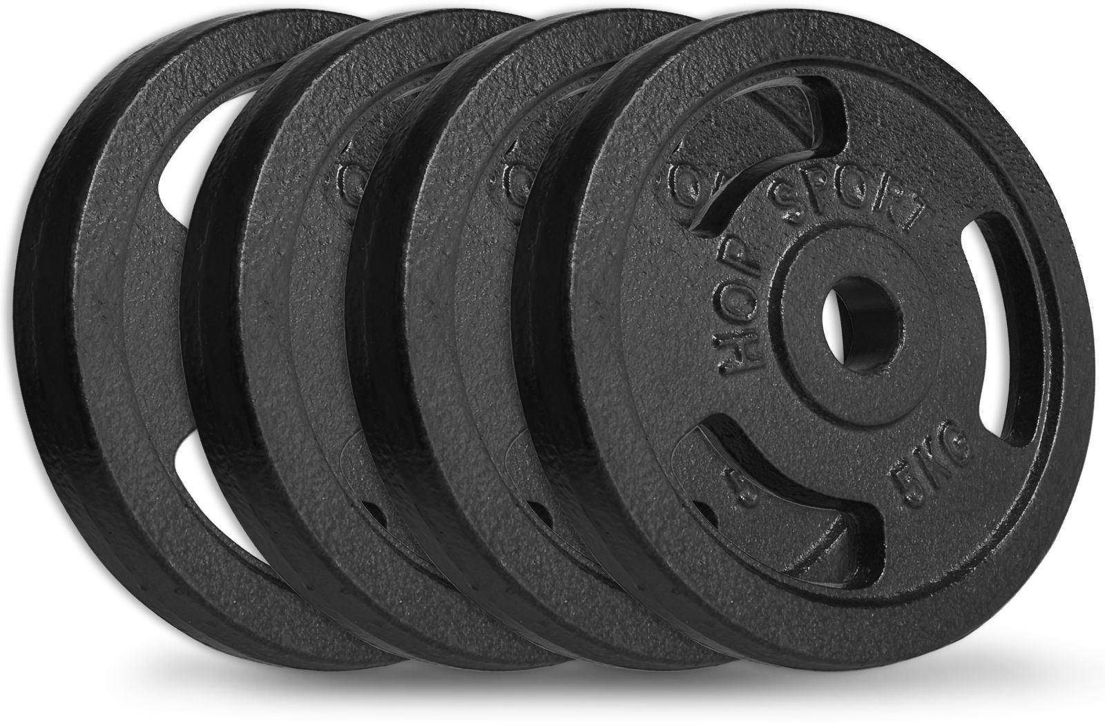 Zestaw obciążeń żeliwnych 4x5kg