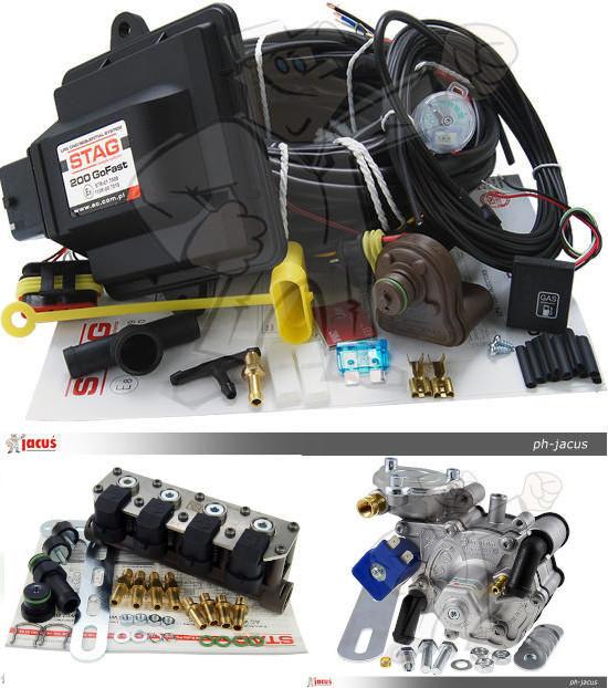 A426 AC STAG 200 GoFast Nordic W02 170KM Sekwencja