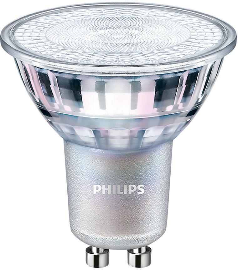 Philips LEDspot MV Value GU10 3.7W 940 36D (MASTER) Najlepsze renderowanie kolorów - Zimna Biel - Regulacja Światła - Zamienne 35W