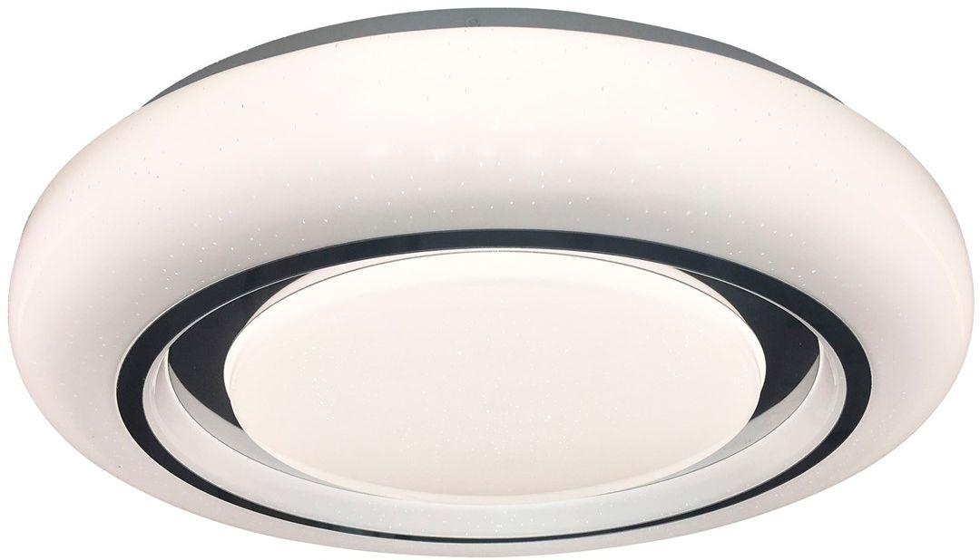 Megan plafon LED z pilotem 1 punktowy 48cm biały ML6397 - Milagro // Rabaty w koszyku i darmowa dostawa od 299zł !