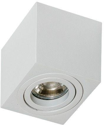 Plafon Mini Eloy AZ1713 AZzardo sześcienna oprawa w nowoczesnym stylu biała