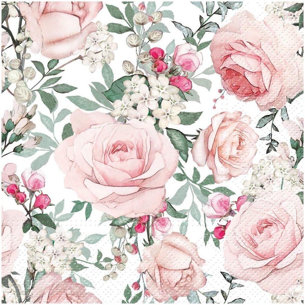 Serwetki Roses 33 x 33 cm 20 szt.
