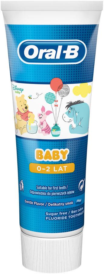 ORAL-B BABY 75ml - pasta do zębów dla dzieci i niemowląt