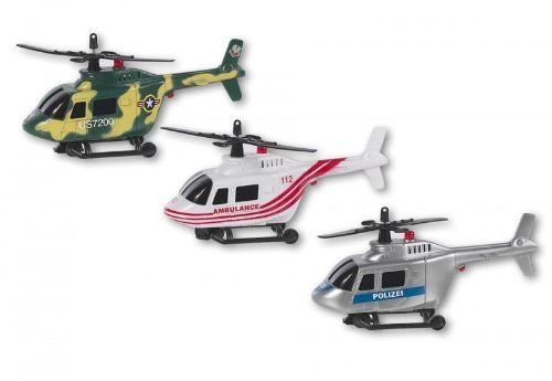 Speed Zone Helikopter,bump&go,L&S, sort.