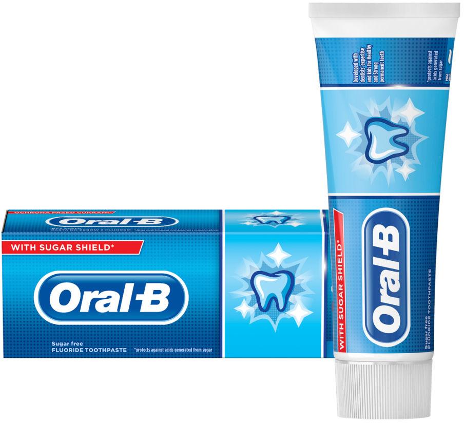 Oral-B JUNIOR ZĄBEK 6+ 75ml - pasta do zębów z fluorem dla dzieci