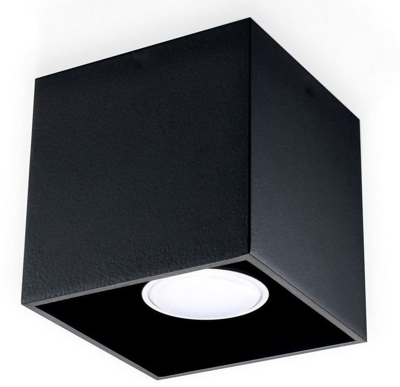 Sollux - plafon quad 1 - czarny