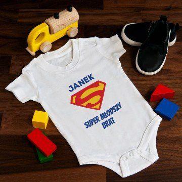Superman - body niemowlęce