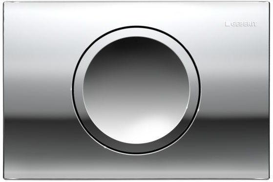 Delta11 Geberit przycisk uruchamiający przedni do spłuczek podtynkowych UP100 biały - 115.120.11.1