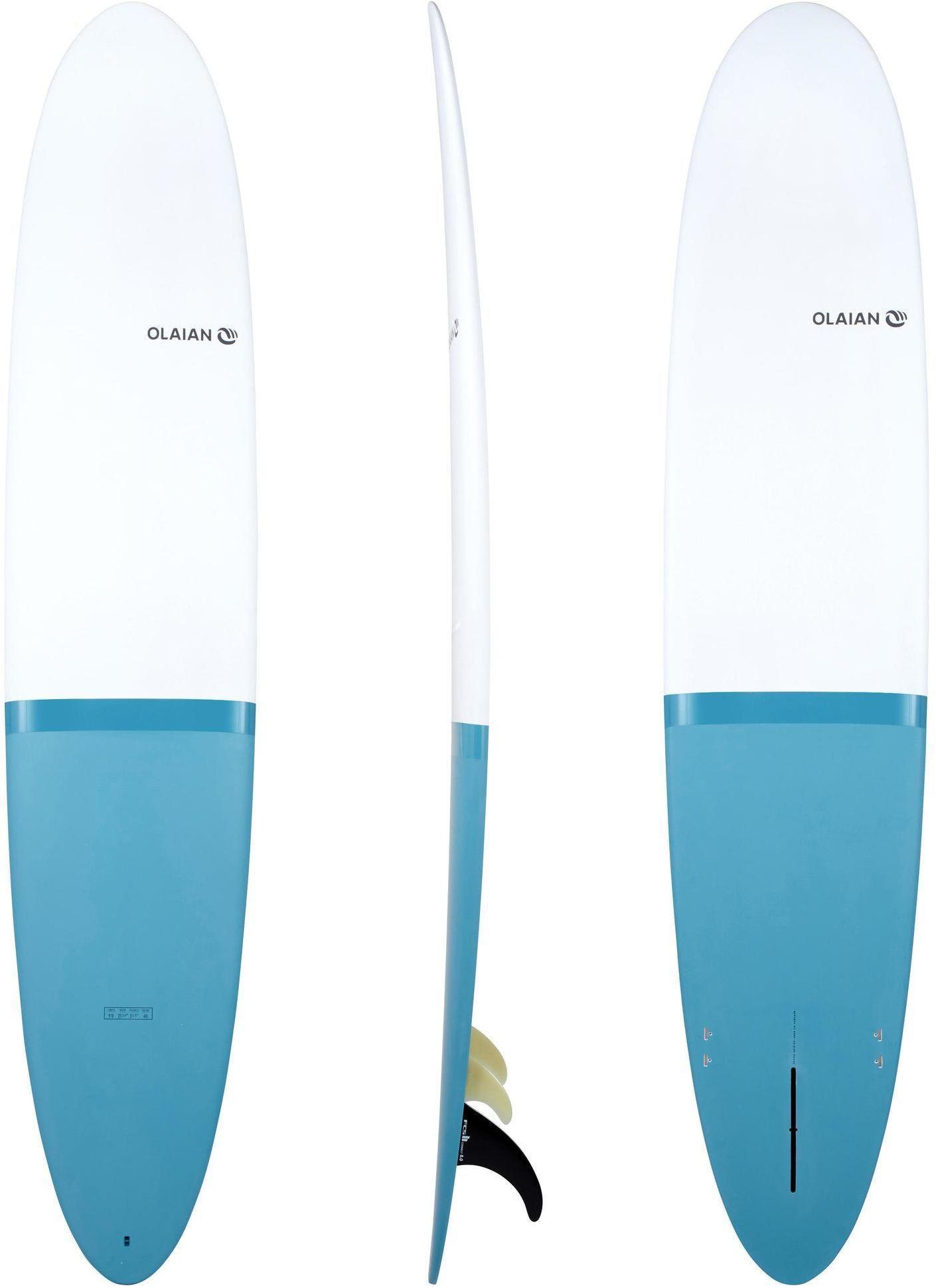 Deska surfingowa Longboard perf 900 9'' z 2+1 statecznikami