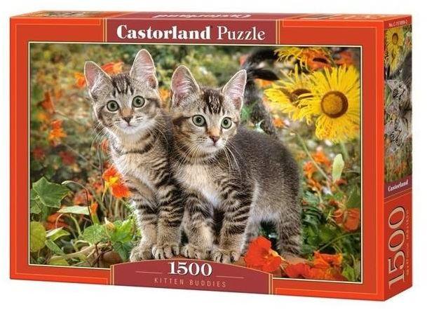 Puzzle 1500 Kitten Buddies CASTOR - Castorland