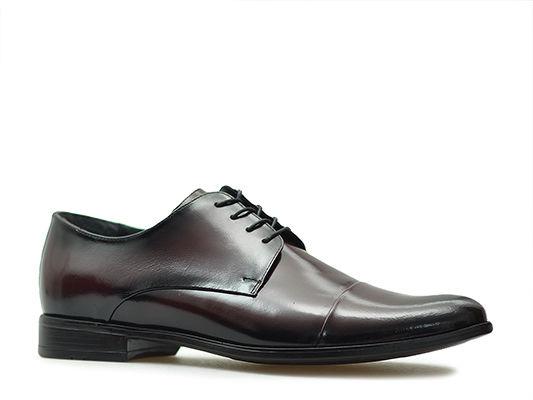 Pantofle Pan 1331 Bordowe lico