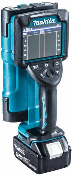 akumulatorowy skaner do ścian / detektor do metalu, kabli i rur, 14,4V/18V Makita [DWD181ZJ] + akumulator 2,0AH
