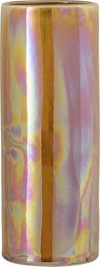 Wazon bloomingville 25 cm brązowy opalizujący