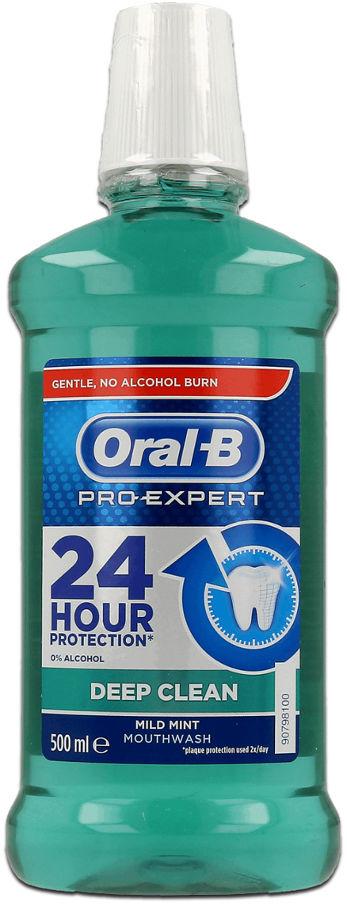 ORAL-B Pro-Expert DEEP CLEAN 500ml - antybakteryjny płyn do płukania jamy ustnej