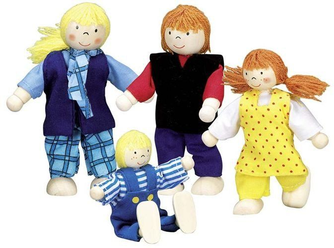 Rówieśnicy - lalki drewniane, Goki