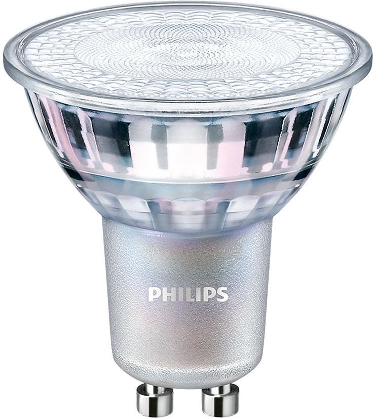Philips LEDspot MV Value GU10 4.9W 927 36D (MASTER) Najlepsze renderowanie kolorów - DimTone Regulacja Światła - Zamienne 50W