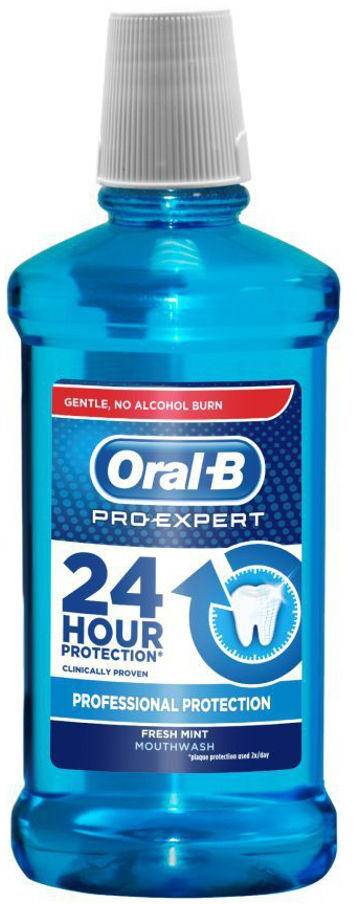 ORAL-B Pro-Expert PROFESSIONAL PROTECT 500ml - płyn do płukania jamy ustnej