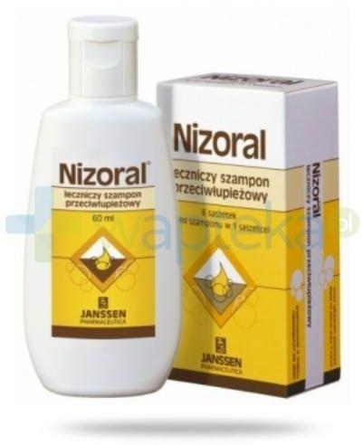 Nizoral 20 mg/g szampon przeciwłupieżowy 60 ml