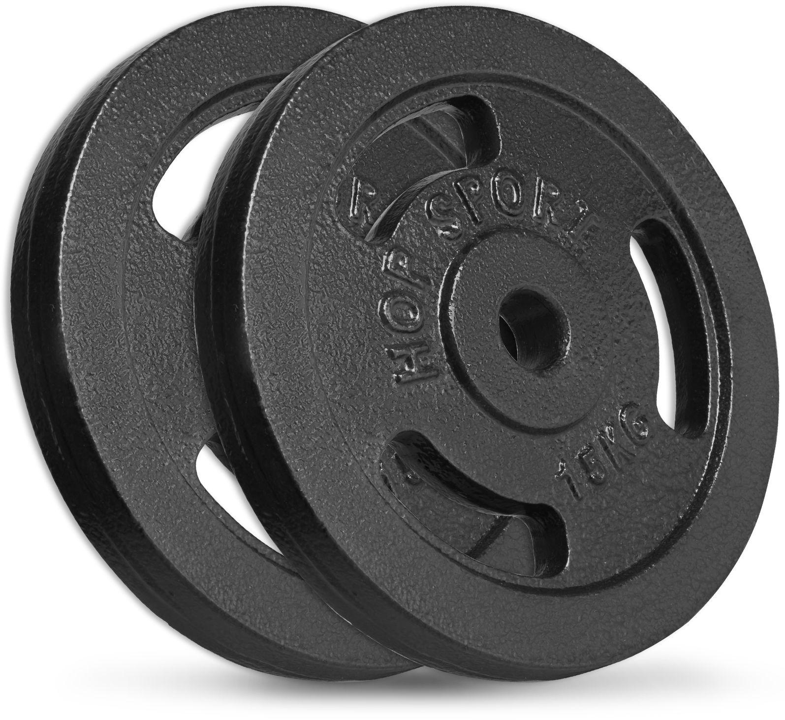 Zestaw obciążeń żeliwnych 2x15kg