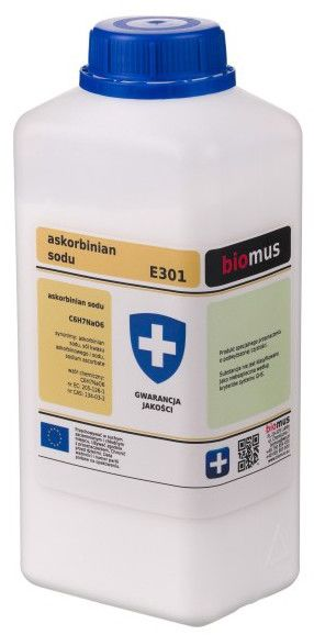 Askorbinian Sodu E301 1 kg Biomus
