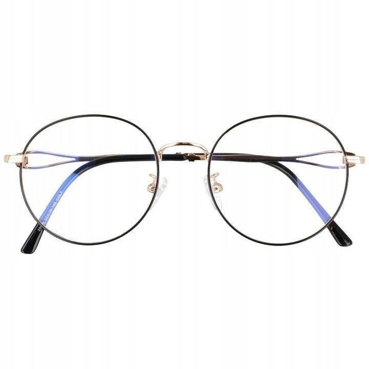 Okulary Zerówki z filtrem BLUE LIGHT do komputera Lenonki 2541-1