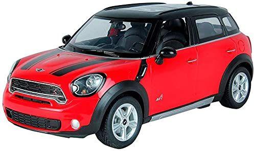 Rastar Mini Cooper zdalnie sterowany samochód, czerwony