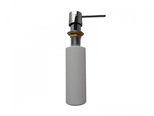 Dozownik blatowy do mydła/płynu CHROM 250 ml