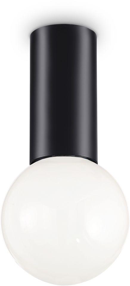 Plafon Petit 232980 Ideal Lux lampa sufitowa w kolorze czarnym