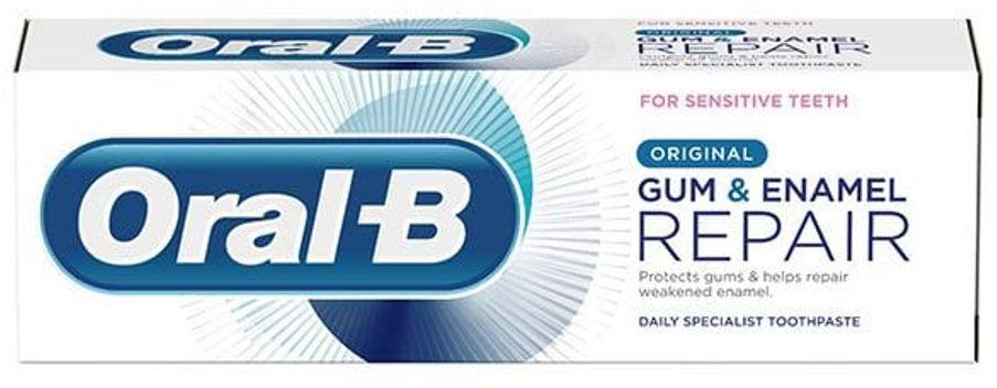 ORAL-B Gum&Enamel REPAIR Original 75ml - pasta do zębów odbudowa dziąseł i szkliwa