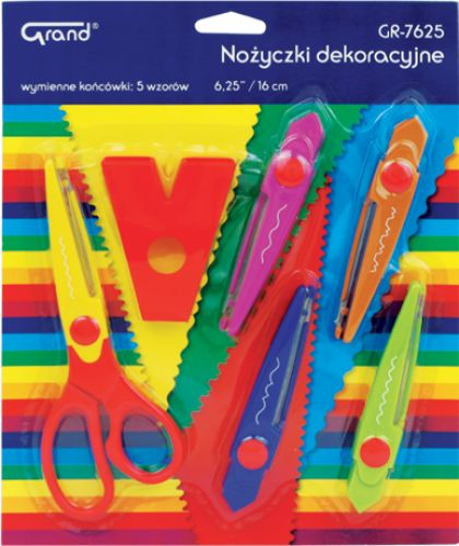 "Nożyczki dekoracyjne FIORELLO 6,25"" 15cm GR-7625"